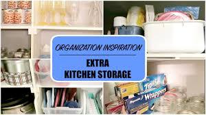 Extra Kitchen Storage Konmari Organization Inspiration Extra Kitchen Storage Youtube