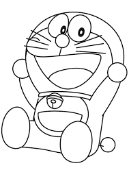The blue robotic cat and the lazy nobita waiting for you to live together amazing adventures. Coloring Pages Doraemon Coloring Pages