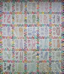 Alphabet Quilt .. with links to patterns for each letter's block ... & Alphabet Quilt .. with links to patterns for each letter's block #embroidery  #pattern Adamdwight.com