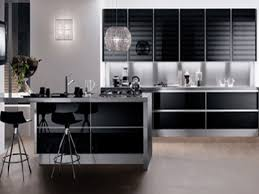 modern kitchen black and white. White Kitchen Design Modern Black And For Amazing With Brown Color Cabinets