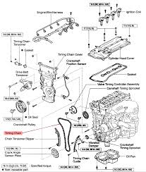 Does scion xa have timing belt or chain on 1997 hyundai tiburon engine diagram