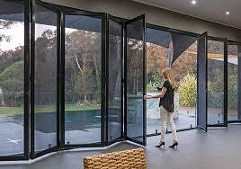 bi fold security screen doors crimsafe