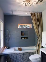Bathtub enclosure ideas Beadboard Islas Mosaic Bathtub Hgtvcom Tub Enclosures Hgtv