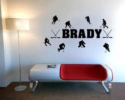 Personalized Bedroom Decor Hockey Bedroom Decor