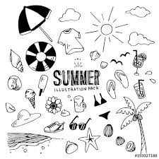 Summer Illustration Pack Stock Image And Royalty Free Vector Files