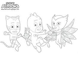 Pj Masks Coloring Pages Printable At Getcoloringscom Free