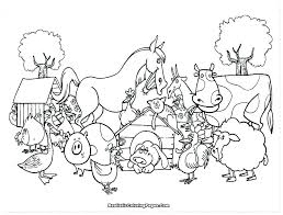 Free Coloring Pages Animal Farm Coloring Page Ideas Bustayescom