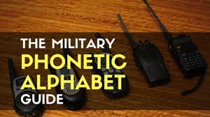 Gimson's phonemic system with a these borrowed characters may not match the look of your current font, but at least they will be readable. The Military Phonetic Alphabet Guide Trueprepper