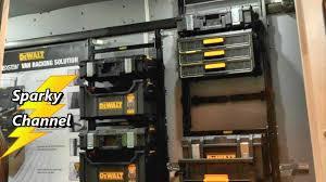 dewalt tough system ds450. dewalt tough system van racking new from nashville media event 2017 dewalt ds450