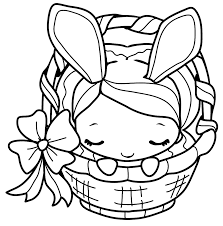 Get crafts, coloring pages, lessons, and more! Easter Bunny Coloring Pages Coloring Rocks