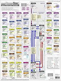 Amazon Warehouse Process Flow Chart Project Management Pm Process Flow Oversized Wall Chart