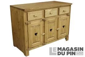 Meuble Bas 3 Portes Cuisine Chamonix En Pin Massif Le Magasin Du Pin