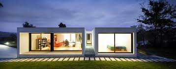 Modern Rectangle House Magnificent People Future