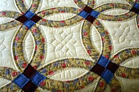 Quiltsmart Double Wedding Ring Kit Double Wedding Ring Quilts Book ... & Quiltsmart Double Wedding Ring Kit Double Wedding Ring Quilts Book Handmade  Amish Quilt Double Wedding Ring Adamdwight.com