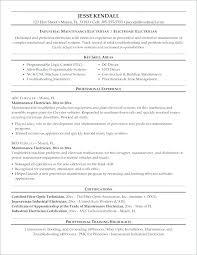 Building Maintenance Resume Sample Sample Resume For Maintenance