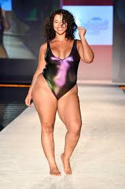 plus size models sports illustrated sports illustrated swimsuit at miami swim week 2017 estrella