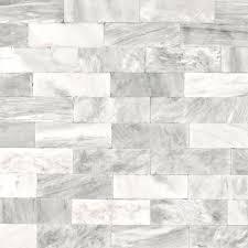 graham brown strata herringbone marble tile white removable wallpaper