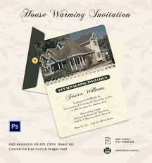 housewarming cards to print party invitation template 31 free psd vector eps ai format