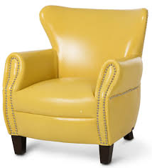 Elite Yellow Accent Chair In Home Decorating Ideas With Blue