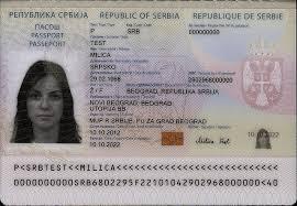 passport Commons Serbia Wikimedia File - jpg Of Id