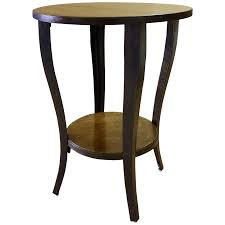 viyet designer furniture tables designe gallerie wood and metal round accent table