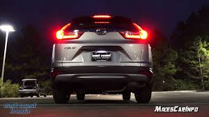 2018 Honda Crv Dome Light At Night 2017 Honda Cr V Lx Interior And Exterior Lighting