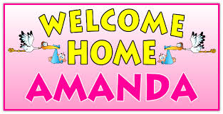 printable welcome home banner template printable welcome home signs