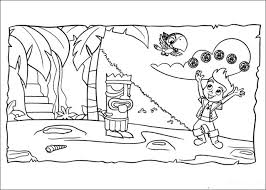 jake and the neverland pirates coloring pages wallpaper