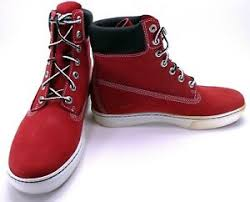 Details About Timberland Shoes 2 0 Cupsole 6 Inch Premium Suede Red Boots Size 7 5