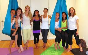 unnata aerial yoga teacher brooklyn new york