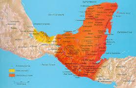 3 thematic maps the amazing maya! Mayan Cities Map Mayan Cities Map #20 mayan city map