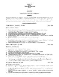 Warehouse Resume Sample Free Resume Templates