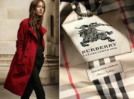 trench coat burberry trenchcoat red