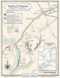 map the battle of princeton phases i  ii · george washington's