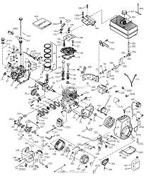 Engine parts list hm1003