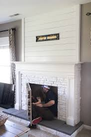 How To Make A Faux Fireplace On The Cheap  Faux Fireplace Living How To Build A Faux Fireplace