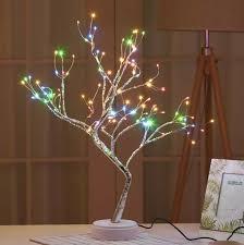 Đèn led để bàn hình nhánh cây 108 đèn ( sạc usb) - Đèn trang trí - Đèn hình  nhánh cây - Đèn led nhánh cây