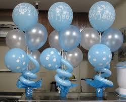 balloon centerpieces light blue 10