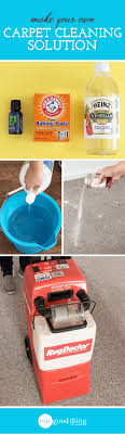 diy carpet cleaner. How To Make A Natural Carpet Cleaning Solution Diy Cleaner E