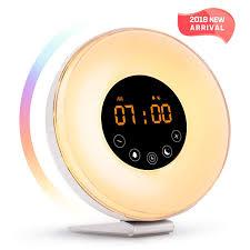 Philips Hf3500 60 Wake Up Light Manual Sunrise Alarm Clock Wake Up Light Led Clock With Sunrise Simulation And Sunset Fading Night Light 6 Natural Sounds Fm Radio 7 Colors Switch 10