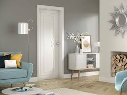 contemporary interior doors. Modern Fully Finished White Internal Door Contemporary Interior Doors