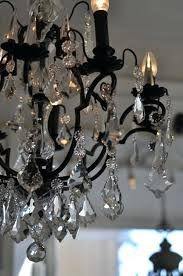 iron and crystal chandelier wrought iron crystal chandelier with flowers white iron crystal chandelier
