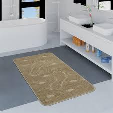 Badezimmer Teppich Fußabdruck Versch Größen Teppichde