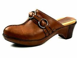 Details About Frye 70121 Womens Clogs Mules Brown Size Us 9 Uk 7 Eu 39 40
