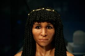 Ancient Egyptian Hair Style facial reconstruction of ancient egyptian woman 6789 by wearticles.com