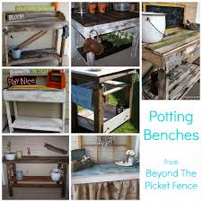 Potting Benches Beyond The Picket Fence Potting Bench Fever