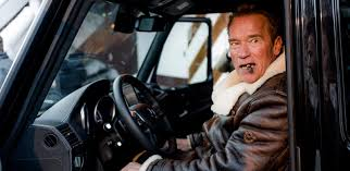 G Electric Arnold Schwarzenegger Will Now Drive A New Custom All Electric