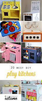20 Coolest Diy Play Kitchen Tutorials It S Always Autumn Kids Play Kitchen Diy Play Kitchen Play Kitchen