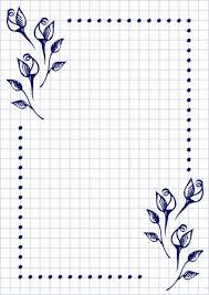 Free Blank Greeting Card Templates Gorgeous Vector Floral Blank For Letter Or Greeting Card Checkered Paper