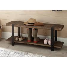 rustic storage bench. Wonderful Storage Alaterre Furniture Modesto Rustic Natural Storage Bench Inside